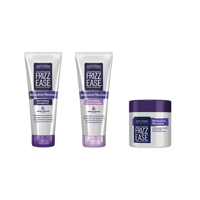John Frieda Frizz Ease Miraculous Recovery Repairing Shampoo and Conditioner